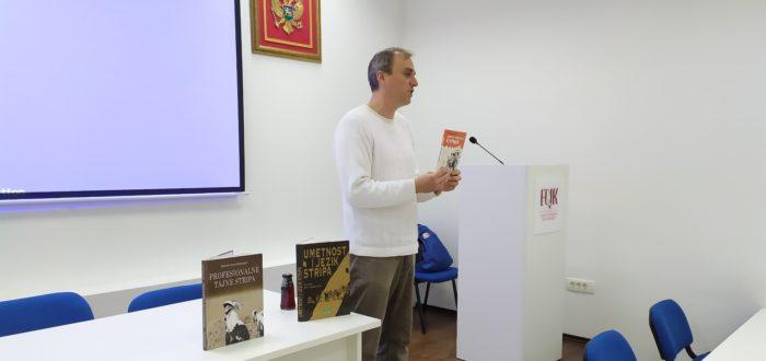 Predavanje o istoriji stripa i promocija izdanja Udruženja strip autora Crne Gore